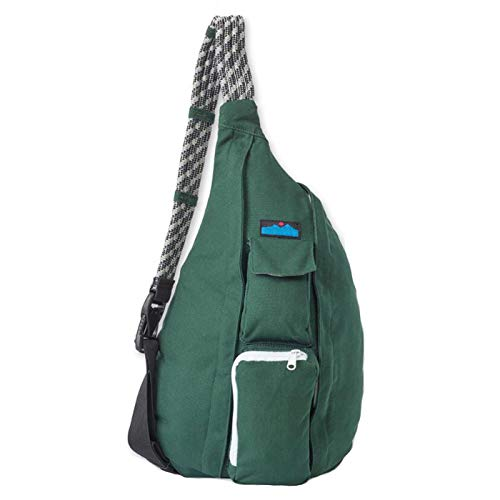 - Etree Sling Bag-Small Single Crossbody Rope Bag for Women and Men (Green)