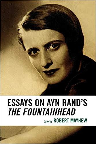 Ayn Rand's Anthem Essay
