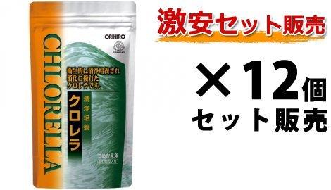 オリヒロ 清浄培養クロレラ詰め替え用 900粒×12個セット B01G9MZ6WE