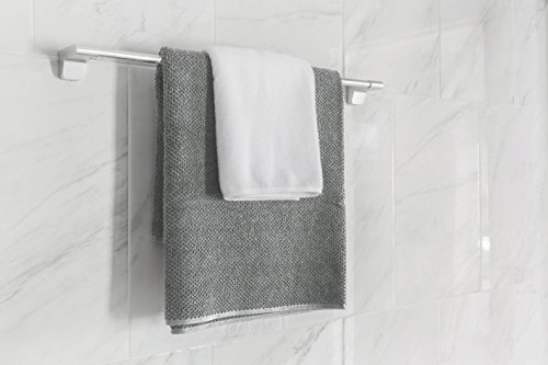 Amazon.com: Bath Towels Grey 4-Piece Set - 100% Cotton Luxury Quick Dry Turkish Towels for Bathroom, Guests, Hot Tub - Hotel Quality Collection Bath Towels, ...