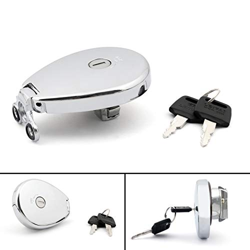 - Artudatech Fuel Gas Tank Cap + Keys For Kawasaki ZR1100 BJ250 VN1500 ZL600 Vulcan 400 500