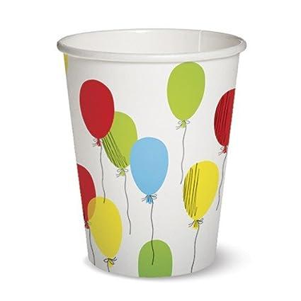 10 vasos de papel Balloons - Party Globos/Cumpleaños ...