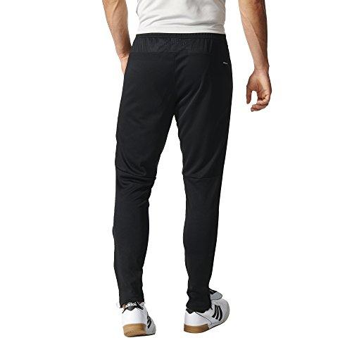 adidas Men's Soccer Tiro 17 Pants, Large, Black/White