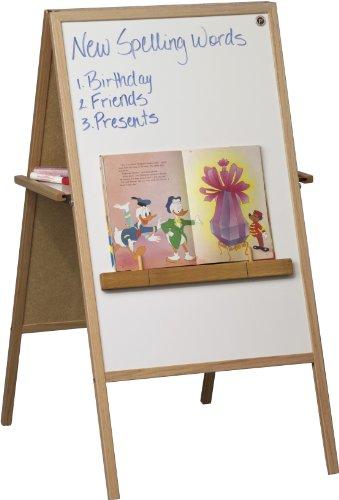 Balt Folding Table - Best-Rite Teachers Magnetic Instructional Combo Easel, Dry Erase Marker & Chalk Surfaces (75T)