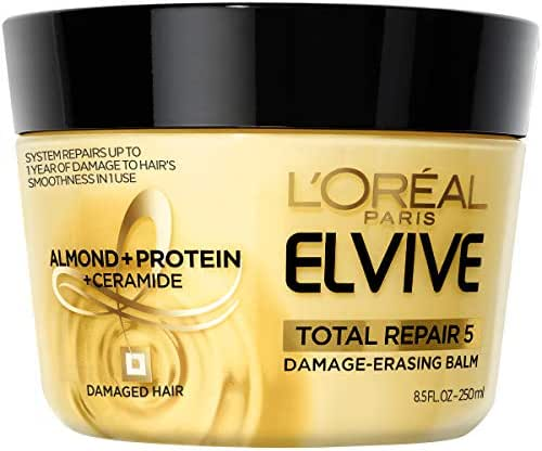 Hair Styling: L'Oreal Paris Elvive Total Repair 5 Damage-Erasing Balm