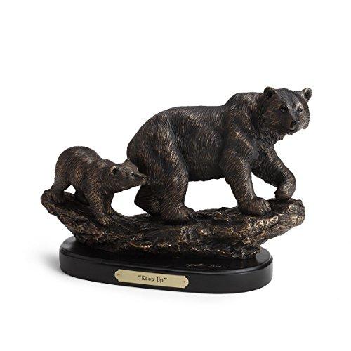 Keep up Bronze Color 8.5 x 11 Hand-cast Resin Decorative Sculpture - Montana Bronze Sculptures