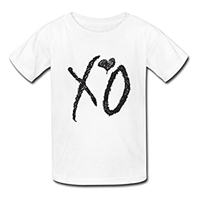 Custom XO The Weeknd Men's Tee Shirt Fashion Cotton Short Sleeve T-shirt