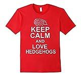 Keep Calm And Love Hedgehogs T-Shirt