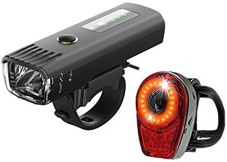 Fengyj Luz Bicicleta USB Recargable Impermeable Súper Potente ...