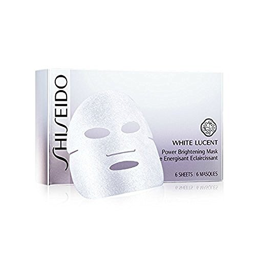 Shiseido White Lucent Power Brightening Mask for Unisex, 0.91 oz