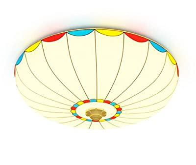 Ceiling Light Shades Stained Glass Lighting Island Lamps Fixture Covers With Led On Bulb For The Home Nursery Girl Children Bedroom Living And Kids Dining Room Of House