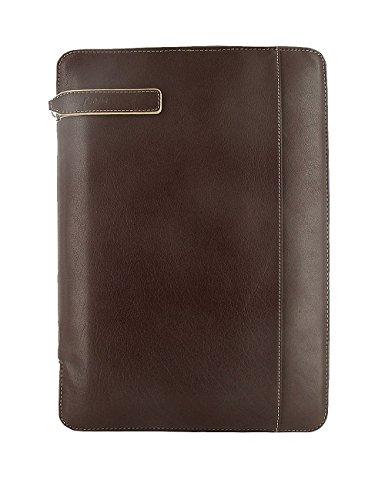 - Filofax Holborn A4 Zipped Portfolio Brown (B827343U)