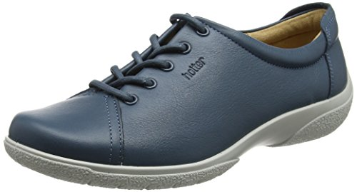 Dew Blue Oxford 105 Hotter Azul de Cordones River para Zapatos Mujer 8axHwqdx