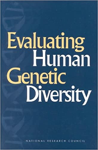 Evaluating Human Genetic Diversity