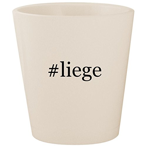 #liege - White Hashtag Ceramic 1.5oz Shot ()