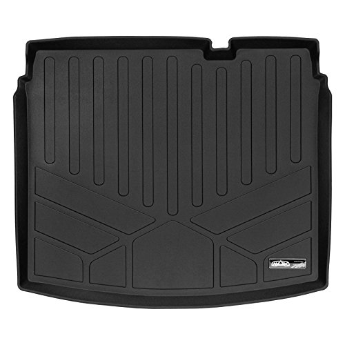 SMARTLINER Cargo Trunk Liner Floor Mat Black for 2017-2019 Jeep Compass Lower or Middle Deck Position Only (New Body Style)