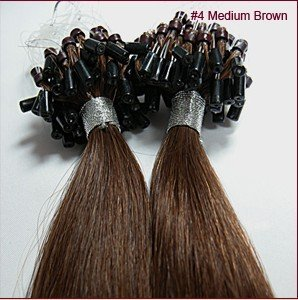 Amazon 100 strands 20 remy micro bead loop 50 grams 4 100 strands 20quot remy micro bead loop 50 grams 4 medium brown 100 pmusecretfo Image collections