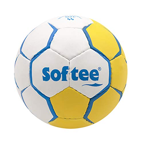 52CM Color Amarillo Y Blanco Balon Balonmano Softee Flash Elite