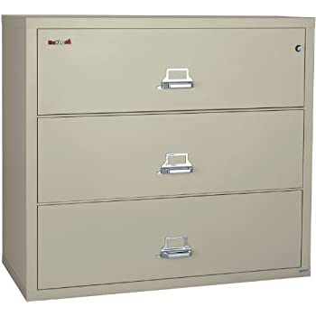 FireKing 44 Inch Wide Lateral File Cabinet 3 4422 C (3 Drawer)