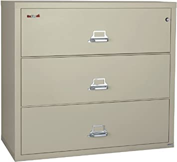 Lovely FireKing 44 Inch Wide Lateral File Cabinet 3 4422 C (3 Drawer) Amazing Design