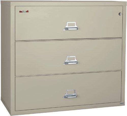 FireKing 44 Inch Wide Lateral File Cabinet 3-4422-C (3 Drawer) by FireKing