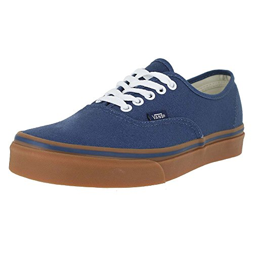 Vans Womens Authentic (Gumsole) Skate Shoe Dark Denim Size 11
