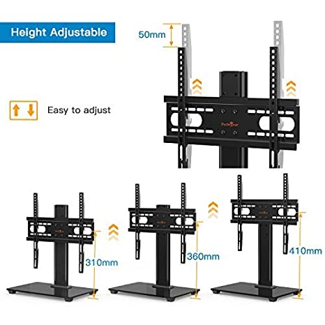 hasta 40 kg,MAX VESA 400x400mm Soporte TV de Pared Articulado Inclinable y Giratorio para Pantallas de 23-55 Pulgadas