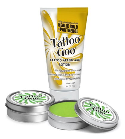 Tattoo goo the original aftercare salve large tin buy 2 for Tattoo goo review