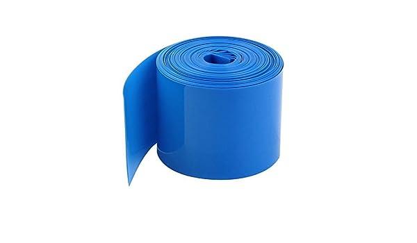 Amazon.com: 5meters 29, 5 mm Ancho de PVC Heat Shrink Wrap Azul por 1 x 18650: Kitchen & Dining