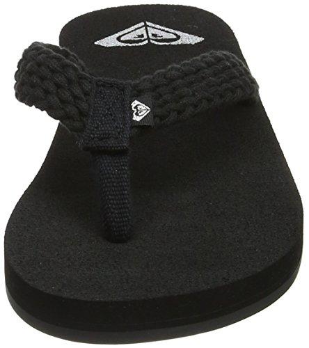 Femme Porto black Ii amp; Blk Noir Chaussures Piscine Roxy Plage De TUwwPq