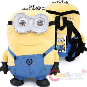 [Despicable Me 2 Jerry Minion Plush Doll Backpack 13