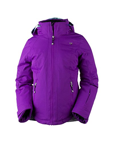 Obermeyer Kids Girl's Kenzie Jacket (Little Kids/Big Kids) Violet Vibe Medium