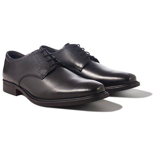 Herren Schnürhalbschuhe Redfoot Redfoot Schwarz Shoes Shoes qz86f