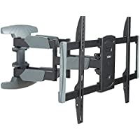 VonHaus Premium Double Arm Full Motion Articulating TV Wall Mount for 37 - 70 Inch LCD, LED & Plasma TV Max VESA 400x600mm, 99lbs Weight Limit