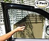 KwikShade High Quality Car Window Sunshade For Car Seat Windshield Baby Sun Visor (4 Pack)