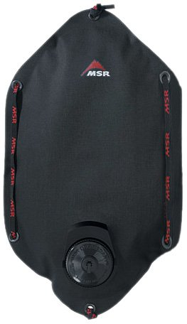 MSR Dromedary Bag with Fill Handle, 4 Liter (Black), Outdoor Stuffs