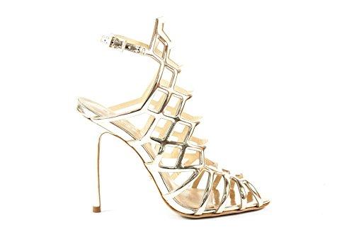 Schutz - Sandalias de vestir de Material Sintético para mujer dorado Platino