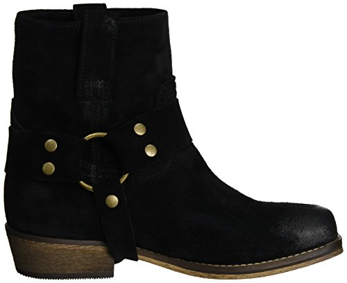 I love candies Damen Western Biker Boots Schwarz (Black)