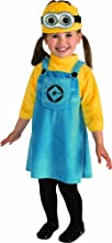 Despicable Me 2 Female Minion Costume, Toddler 1-2