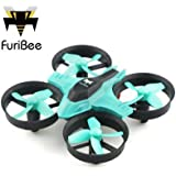 Furibee F36 Quadcopter 6 Axis Gyro One Key Automatic Return Drone with 2.4GHz 4 Channel Remote Blue