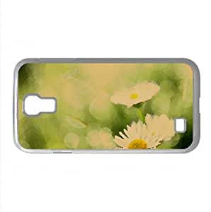 Morning Dew Watercolor style Cover Samsung Galaxy S4 I9500 Case (Flowers Watercolor style Cover Samsung Galaxy S4 I9500 Case)
