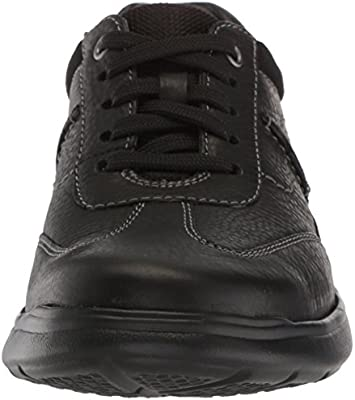 Clarks 26131571 Cotrell Style Black Oily Lea Men/'s Shoes