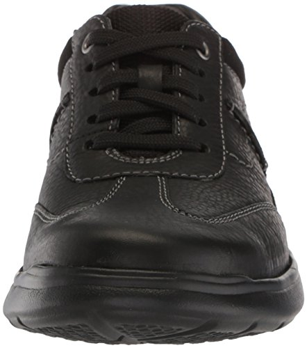 Sneaker CLARKS Cotrell Leather Oily Black Men's Style twzR4