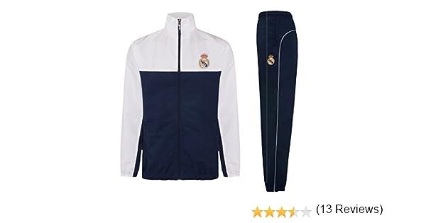 Real Madrid - Chándal Oficial para Hombre - Chaqueta y pantalón ...