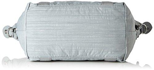 Kipling Art S, Borsa con Maniglia Donna, 44x27x18 cm (B x H x T) Grigio (Dazz Grey)