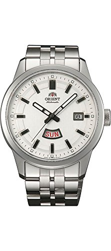 orient white dial watch - 4