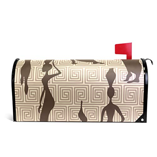 ALAZA African Women Magnetic Mailbox Cover Oversized-25.5'' x20.8'' by Alaza(mailbox cover)