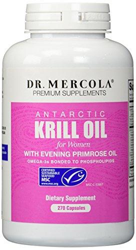 Mercola dr mercola krill oil for women 270 capsules for Is krill oil better than fish oil