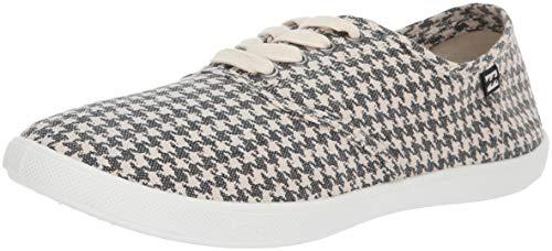 Billabong Women's ADDY 2 Sneaker, Black/White, 6 M US