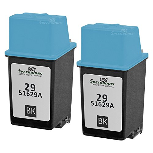 Speedy Inks - Remanufactured Replacement Ink Cartridge for HP 29 51629A Black